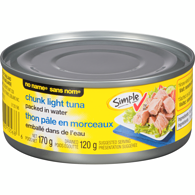 Chunk Light Tuna, Albacore In Water