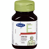 Vitamin E 200 IU Synthetic