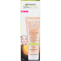 Skin Renew BB Cream All-in-One Miracle Skin Protector, Light/Medium