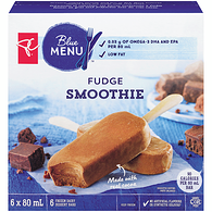 Blue Menu Smoothie Bars, Fudge