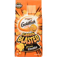 Goldfish Crackers, Flavour Blasted, Extreme Cheddar