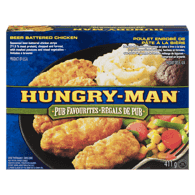 Hungry Man Beer Battered Chicken