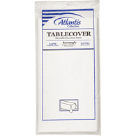 White Table Cover, 54 x 108 in