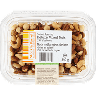 Deluxe Roasted Mixed Nuts, Salted
