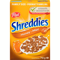 Honey Shreddies Family Size
