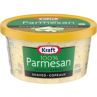 100% Parmesan Cheese, Shaved
