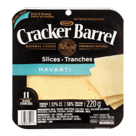 Cracker Barrel Cheese Slices, Havarti