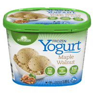 Frozen Yogurt, Maple Walnut