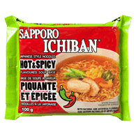 Ichiban Japanese Style Noodles, Hot & Spicy