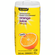 Orange Juice, Unsweetened