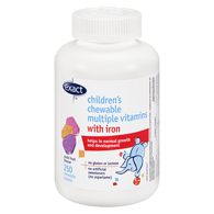 Chewable Kids Multi-Vitamins with Iron