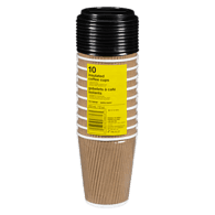 Coffee Cups with Lids, 16oz