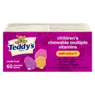 Children's Chewable Multi-Vitamin, with Vitamin C