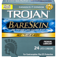 Bareskin Condoms, Value Pack