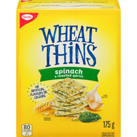 Wheat Thins, Spinach & Garlic