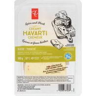 Herb & Spice Havarti, Sliced