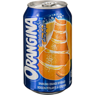 Sparkling Orange Beverage