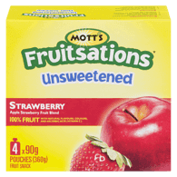 Fruitsations Fruit Rockets, Unsweetened Strawberry