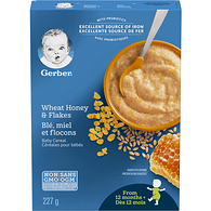 Wheat, Honey & Flakes Toddler Cereal
