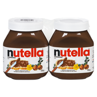 Tartinade Nutella paquet de 2