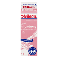 Flavoured Milk, Strawberry