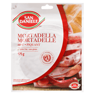 Mortadella, Hot