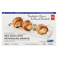 Bacon-Wrapped Nova Scotian Sea Scallops