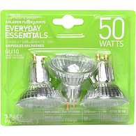GU10 Halogen Flood 50W Light Bulbs