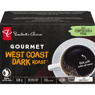 Single Serve Pods, Gourmet West Coast Dark Roast