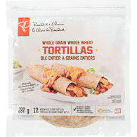 Whole Grain Tortillas, Medium
