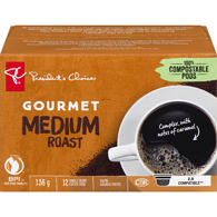 Single Serve Pods, Gourmet Medium Roast