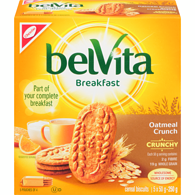 Belvita Crunchy Breakfast, Oatmeal Crunch
