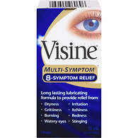 Multi-Symptom Drops for Irritated Eyes