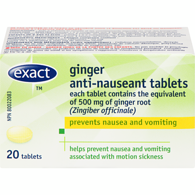 Anti Nauseant, Ginger