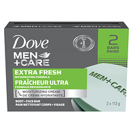 Men+Care Body & Face Bar, Extra Fresh