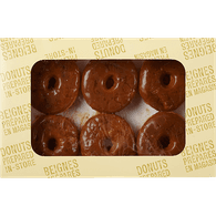 Chocolate Iced Donuts, package of 6