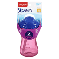 Lil' Gripper Twist 'n Click Cup with Straws, 12+ Months