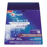 3D Whitening Strips, Advance Seal