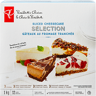Sliced Cheesecake Selection