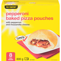 Baked Pizza Pouches, Pepperoni