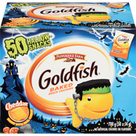 Goldfish Snack Packs, Halloween