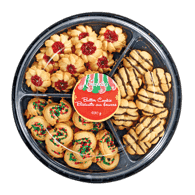 Holiday Butter Cookie Tray