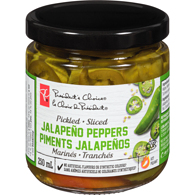 Pickled, Sliced Jalapeño Peppers