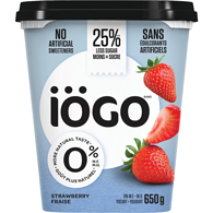 Yogurt, Strawberry 0%