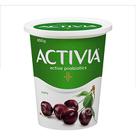 Cherry 2.9% M.F. Probiotic Yogurt,650g