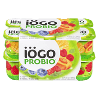 Probio Yogurt, Strawberry-Banana/Raspberry-Cranberry/Blackberry-Blueberry/Peach-Mango