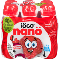 Nano Drinkable Yogurt, Raspberry