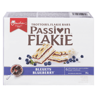 Passion Flakie Bars, Blueberry