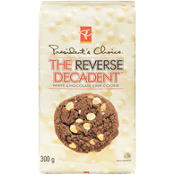 The Reverse Decadent Cookies, White Chocolate Chip