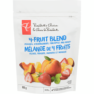 Peaches, Strawberries, Pineapple And Mango 4-Fruit Blend